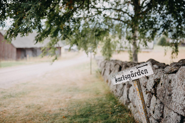 Lantligt Järvsobröllop Fotograf Yohanna Mårtensson