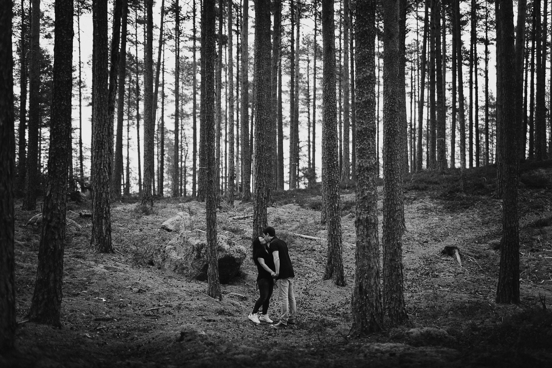Kärleksfotografering Ljusdal Fotograf Yohanna Mårtensson
