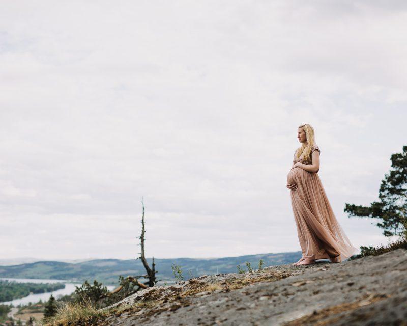 Gravidfotografering Järvsö Fotograf Yohanna Mårtensson