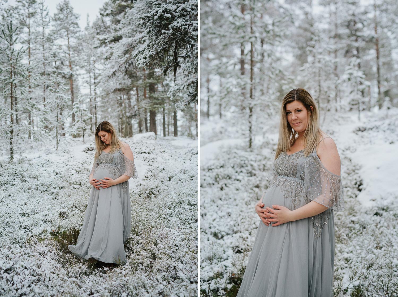 Gravidfotograf Järvsö Fotograf Yohanna Mårtensson