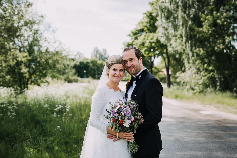 Sommarbröllop Hudiksvall Fotograf Yohanna Mårtensson