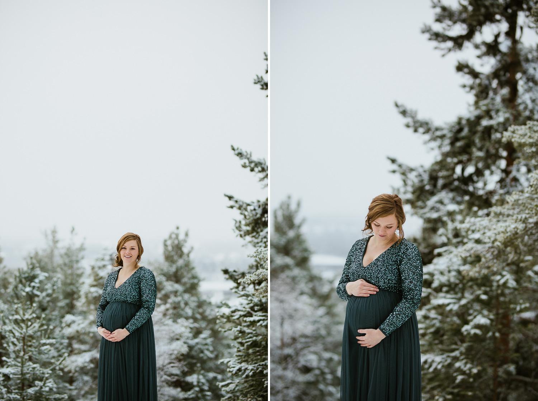 Gravidfotografering Ljusdal Fotograf Yohanna Mårtensson