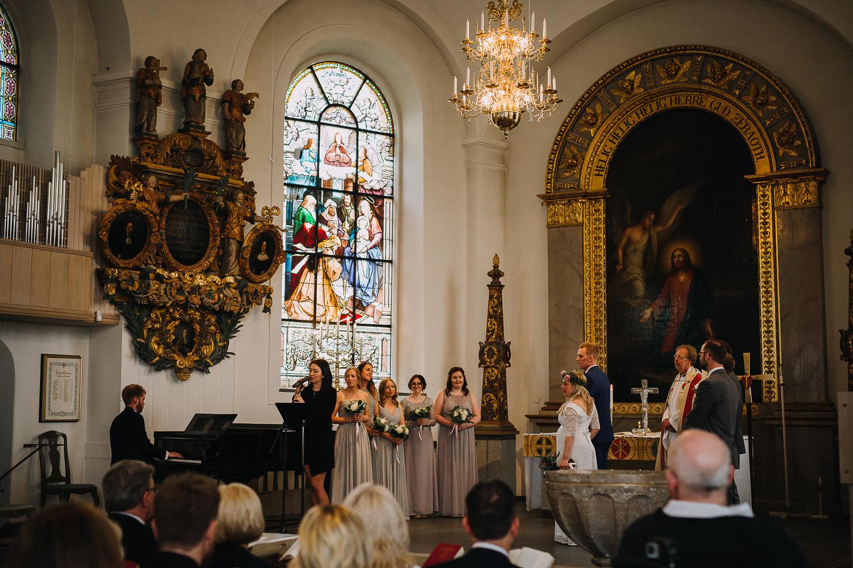 Bröllop Ulrika Eleonora kyrka Söderhamn Fotograf Yohanna Mårtensson