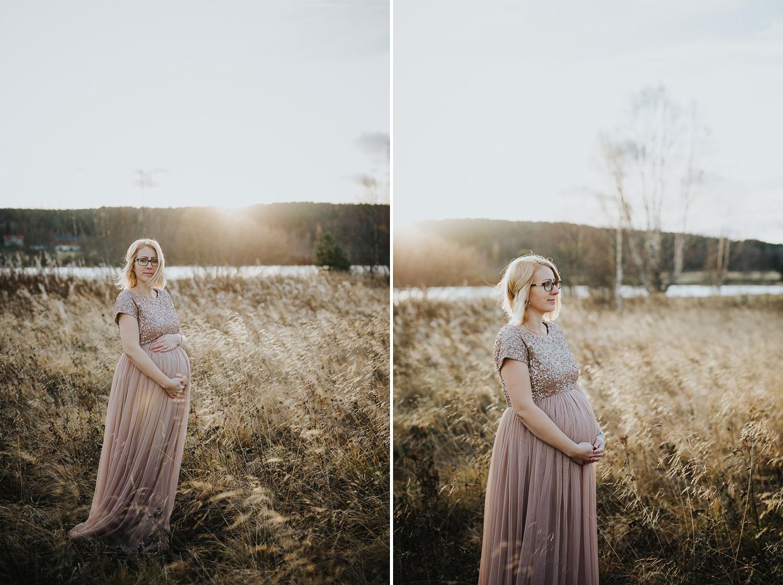 Gravidfoto Ljusdal Fotograf Yohanna Mårtensson Gravidfotografering