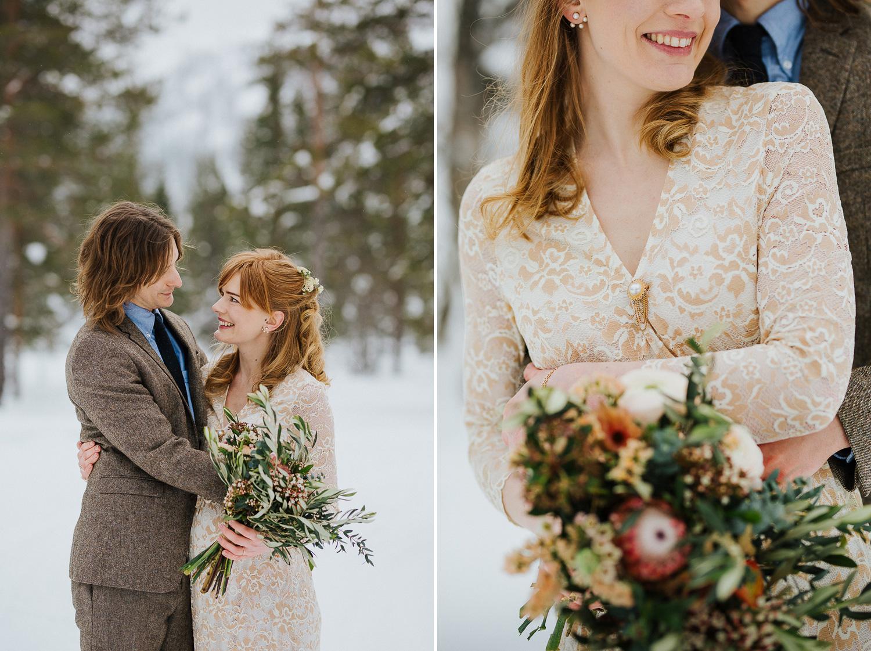 Utomhusvigsel Tännäskröket Bröllopsfotograf Yohanna Mårtensson Fotograf Härjedalen Fotograf Jämtland