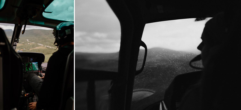Utsikt från Helikopter, Ramundberget Härjedalen