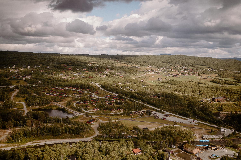 Utsikt från Helikopter, Bruksvallarna Härjedalen